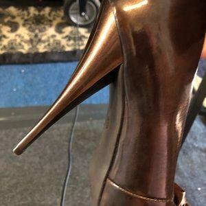 Carlos Santana Shoes - CARLOS SANTANA Brown open toe Stiletto  high heel